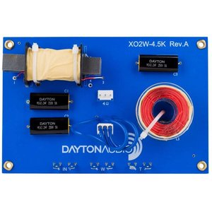 Dayton Audio XO2W-4.5K 2-Way Speaker Crossover 4,500 Hz