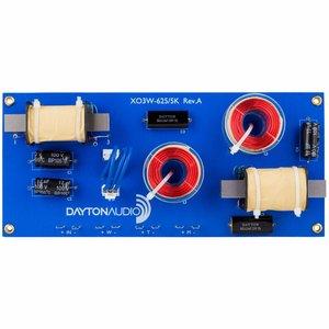 Dayton Audio XO3W-625/5K 3-Way Speaker Crossover 625/5,000 Hz