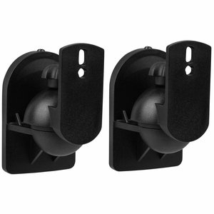 Dayton Audio Shadow Mount SWMS Adjustable Satellite Speaker Wall Mount Pair