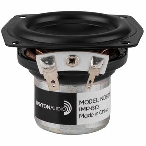 "Dayton Audio ND65-8 2-1/2"" Aluminum Cone Full-Range Driver"