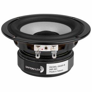 Dayton Audio DA115-8 4'' Aluminum Cone Woofer