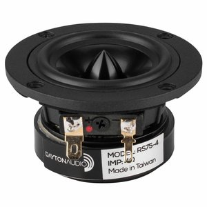 "Dayton Audio RS75-4 3"" Full-Range Driver"
