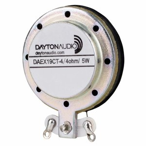 Dayton Audio DAEX19CT-4 Coin Type Vented Exciter