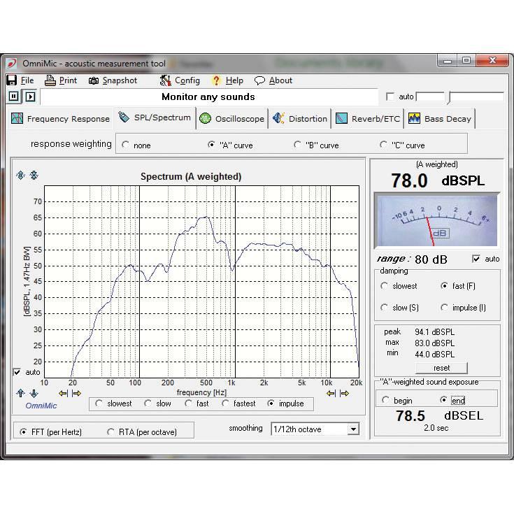 Computer Based Measuring Equipment : Dayton audio omnimic v soundimports eu