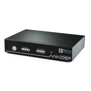 miniDSP nanoAVR DL High-resolution 8-channel Dirac Live Audio Processor