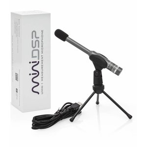 miniDSP UMIK-1 Omni-Directional USB Measurement Calibrated Microphone