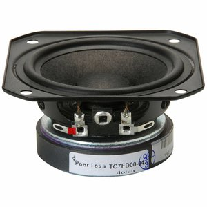 "Peerless by Tymphany TC7FD00-04 2-1/2"" Full Range Paper Cone Woofer"