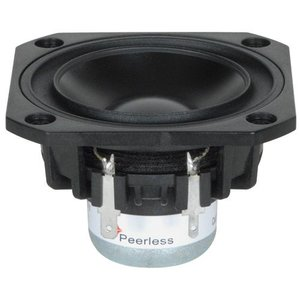"Peerless by Tymphany PLS-P830987 3"" Full Range Woofer"
