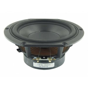 "Peerless by Tymphany HDS-P830874 6-1/2"" PPB Cone HDS Woofer"
