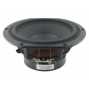 "Peerless by Tymphany HDS-P830875 6-1/2"" Nomex Cone HDS Woofer"