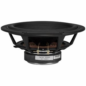 "Peerless by Tymphany HDS-P830869 8"" Nomex Cone HDS Woofer"
