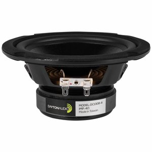 "Dayton Audio DC130B-4 5-1/4"" Classic Woofer Speaker"