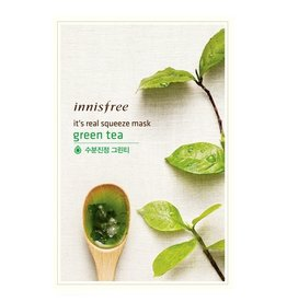 Innisfree It's Real Squeeze Mask Greentea