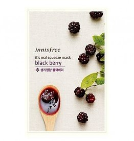 Innisfree It's Real Squeeze Mask Blackberry