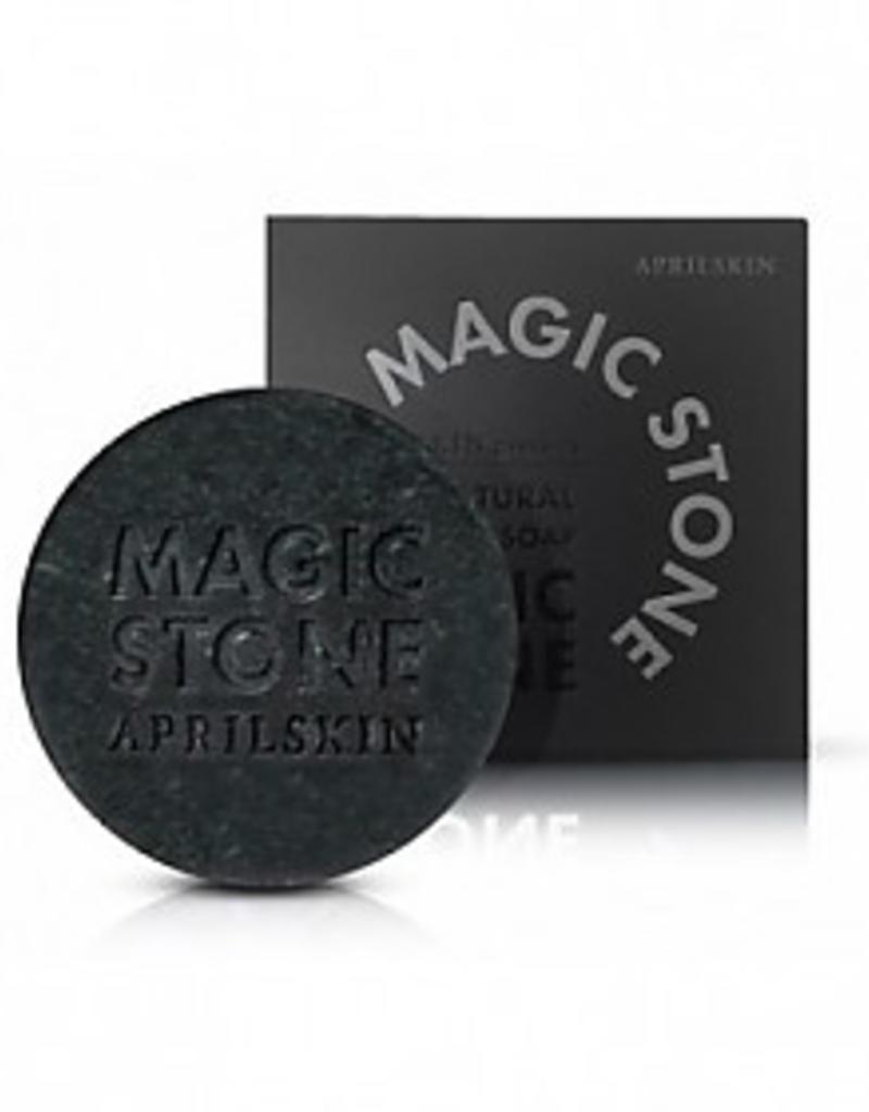 April Skin Magic Stone - Black 100% Natural Soap