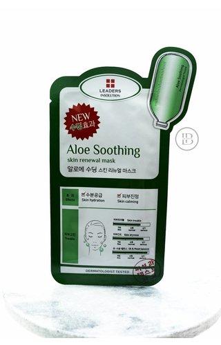 Leaders Cosmetics Aloe Soothing Renewal Mask