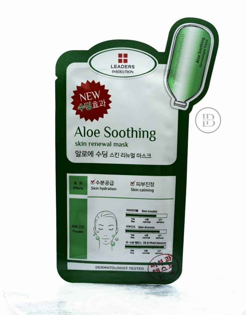 Leaders Cosmetics Aloe Soothing Renewal Mask