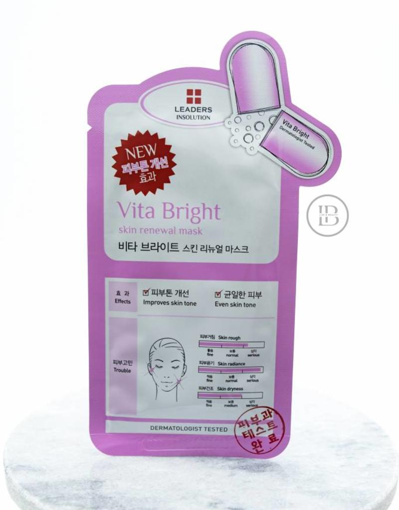 Leaders Cosmetics Vita Bright Skin Renewal Mask