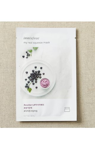 Innisfree My Real Squeeze Mask Acai Berry