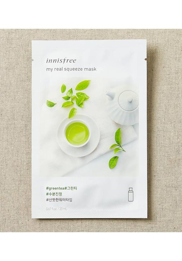 My Real Squeeze Mask Greentea