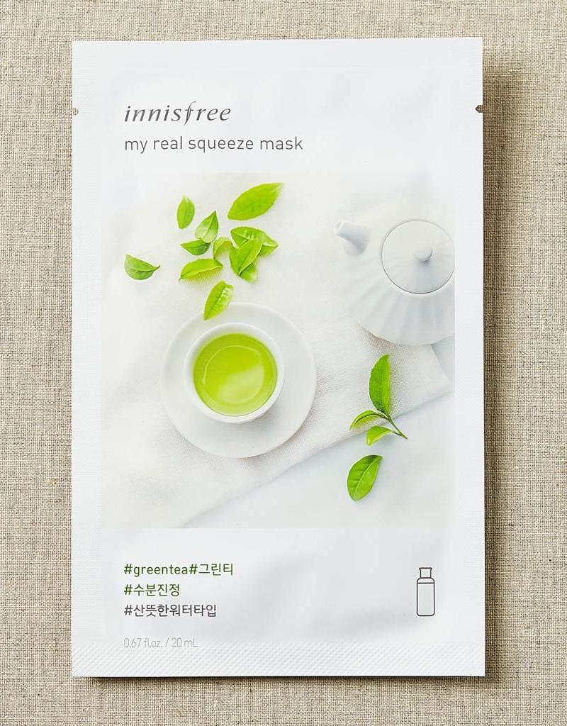 Innisfree My Real Squeeze Mask Greentea