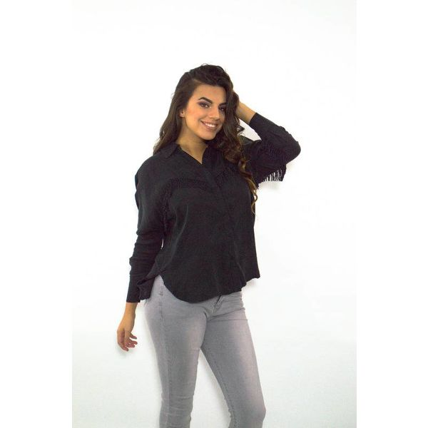 Fringy blouse