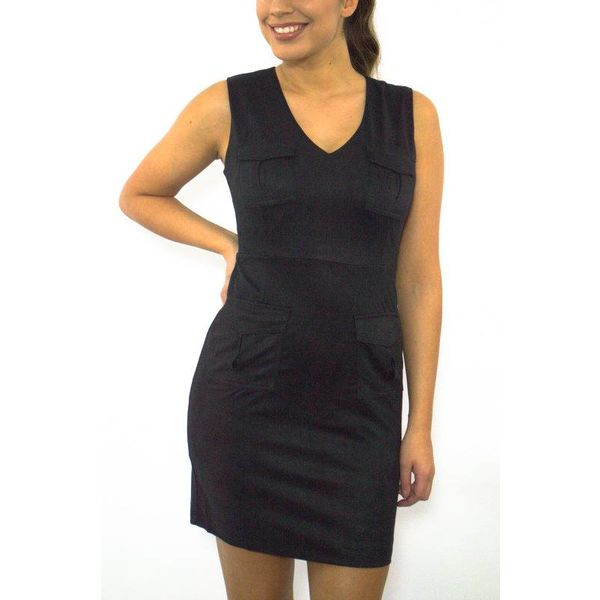 Little black pocket dress