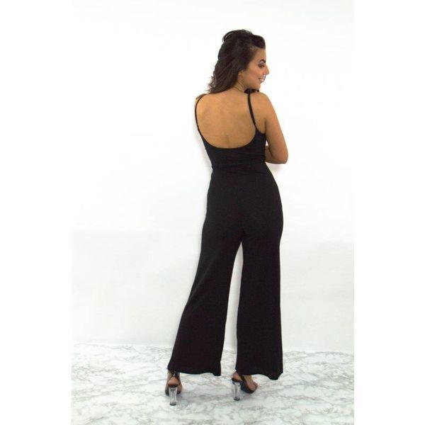 Jumpsuit long black