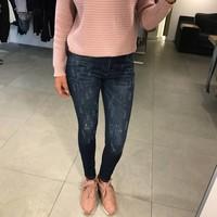 High waist pink splash
