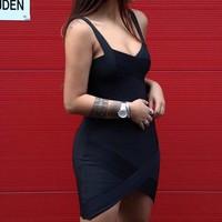 Bandage dress Black basic