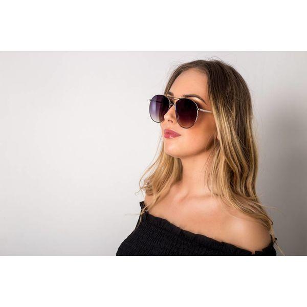 Aviator sunglasses silver