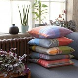 cushions, throws and bed linen