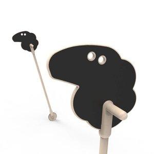 ooh noo Mary's Little Lamb on a stick