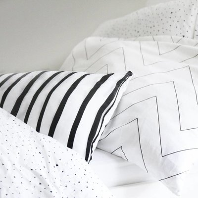 ooh noo Zigzag pillowcase