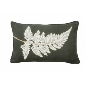 Pernille Folcarelli Fern white cushion