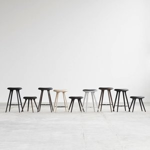 Mater High Stool black stain