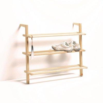 side by side Gaston shoe rack