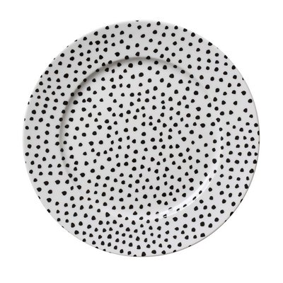 House of Rym diner plate Miss Dotty