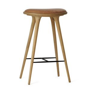 Mater High Stool gezeepte eik