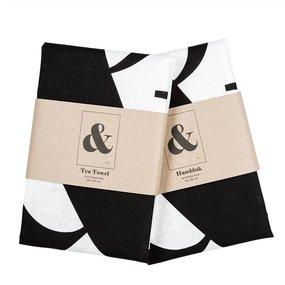 Terrible Twins tea towel