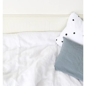 ooh noo Pure white duvet cover