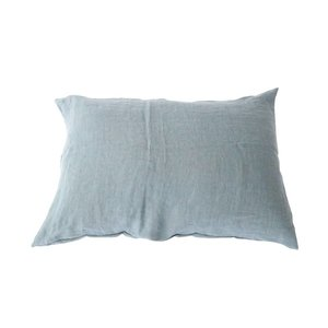 ooh noo Slate blue  pillowcase
