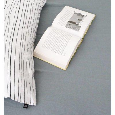 ooh noo Slate blue fitted sheet