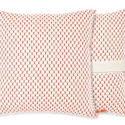Orange Or Red Hills cushion