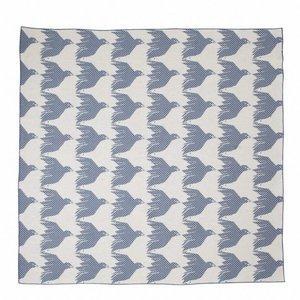 House of Rym baby blanket Birdie nam nam blue