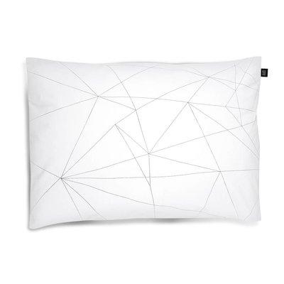 ooh noo Geometric Web pillowcase