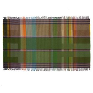 WallaceSewell Pinstripe throw - Eden
