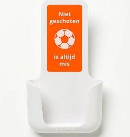 YOU·P® YOU·P® smartphone holder | white | Niet Geschoten Is