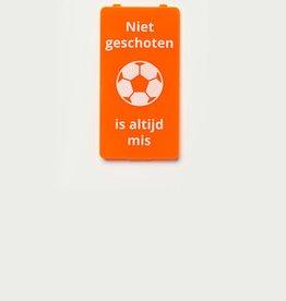 YOU·P® Orange | Niet Geschoten Is Altijd Mis