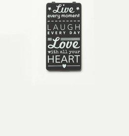 YOU·P® Grijs | Live Laugh Love